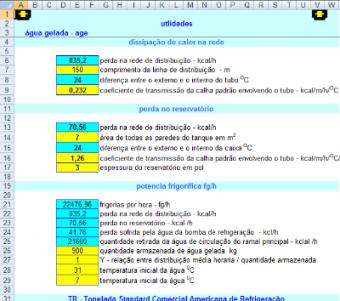 97. Cálculo Agua Gelada