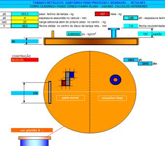 24. Cálculo fundo Tanque Plano