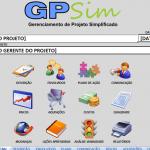 GPsim: Planilha para Gerenciamento de Projeto Simplificado