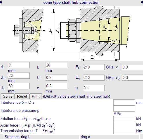 calculo_acoplamento_conico_eixo_cubo