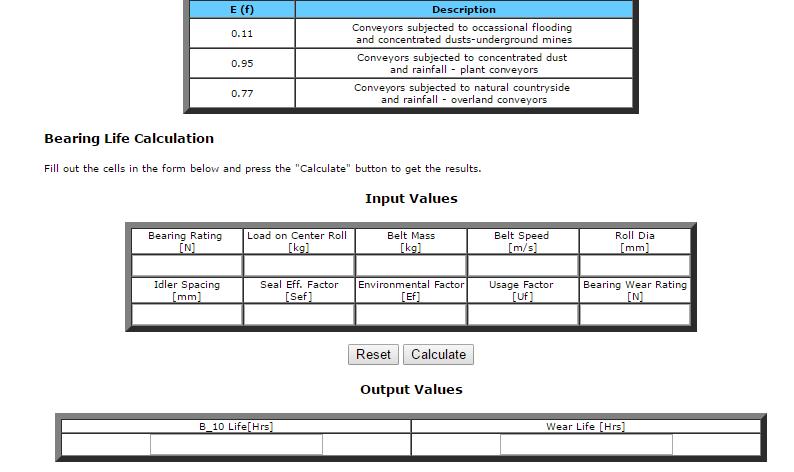 calculo_vida_util_rolamentos_transportador_correia