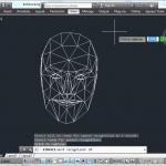 Integração do Autocad com Rastreamento Kinect