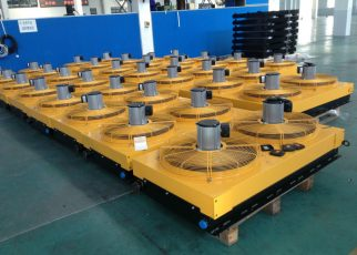 oil_cooler_radiator_fan_mounted_for_hydraulic_transmission_engine