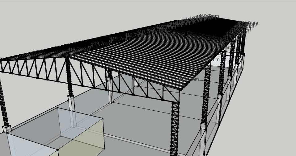 Projetos FP: Projeto de Galpão Metálico
