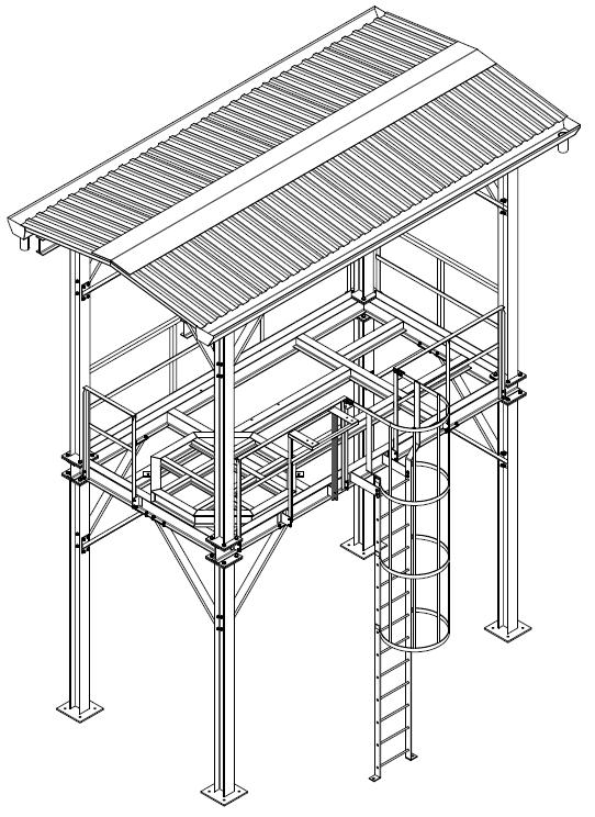Projetos FP: Estrutura Metálica – Estação de Desmineralização de água