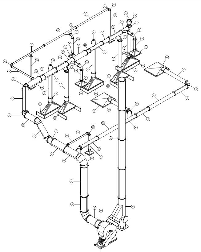 Projetos FP: Sistema de Exaustão