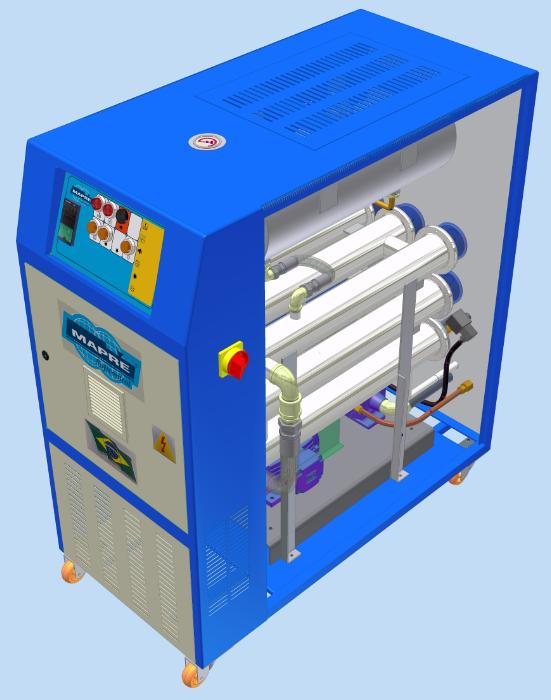 Projetos FP: Equipamento de resfriamento / aquecimento de Água