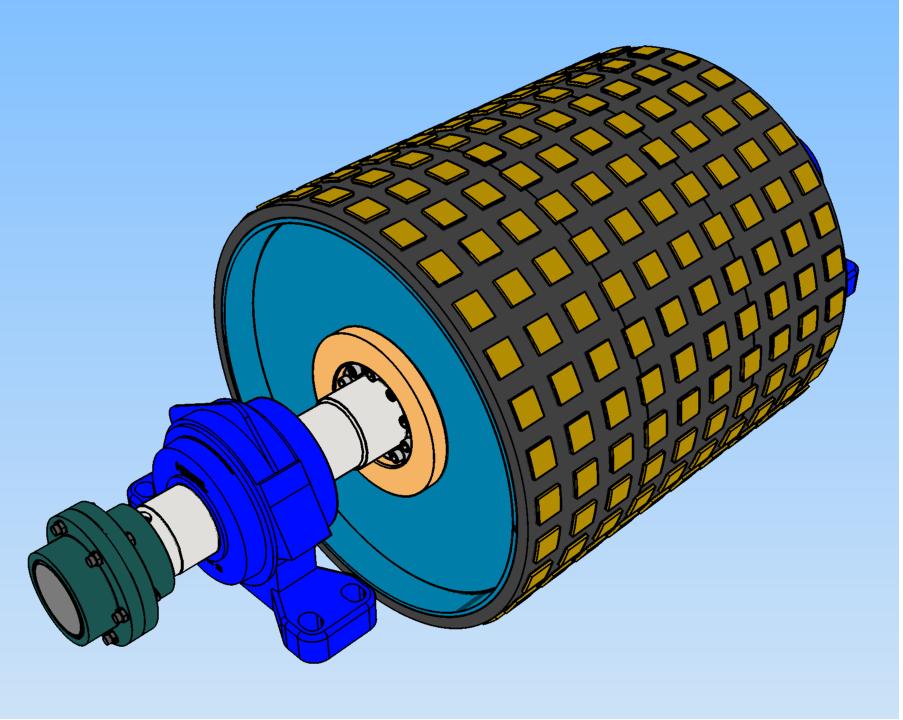 Projetos FP: Tambor Motriz Transportador de Correia – Ceramico