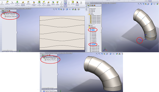 Projetos FP: Curvas de Gomos Inteligentes SolidWorks