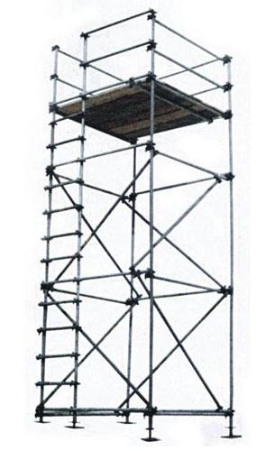 Projetos FP: Andaime tipo Abraçadeira para construções
