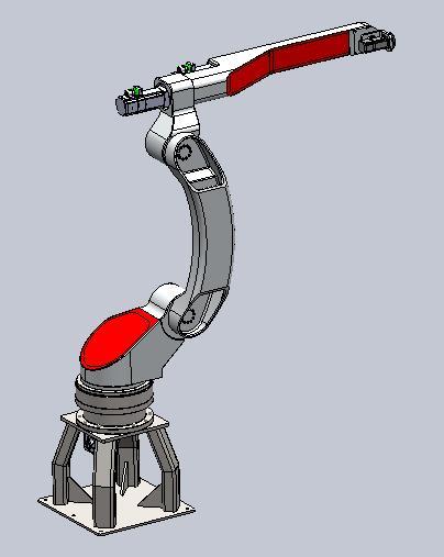 Projetos FP: Robô 6 eixos