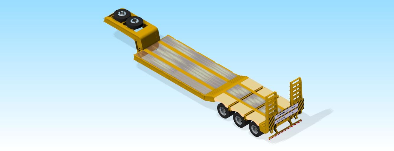Projetos FP: Projetos de implementos rodoviários
