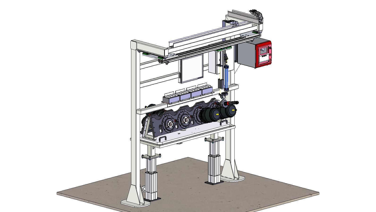 Projetos FP: Mesa para aperto do cilindro de freio