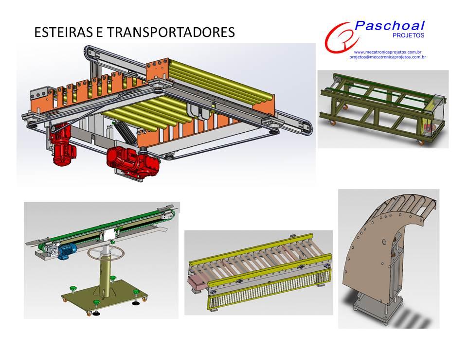Projetos FP: Projeto de esteiras especiais e transporte