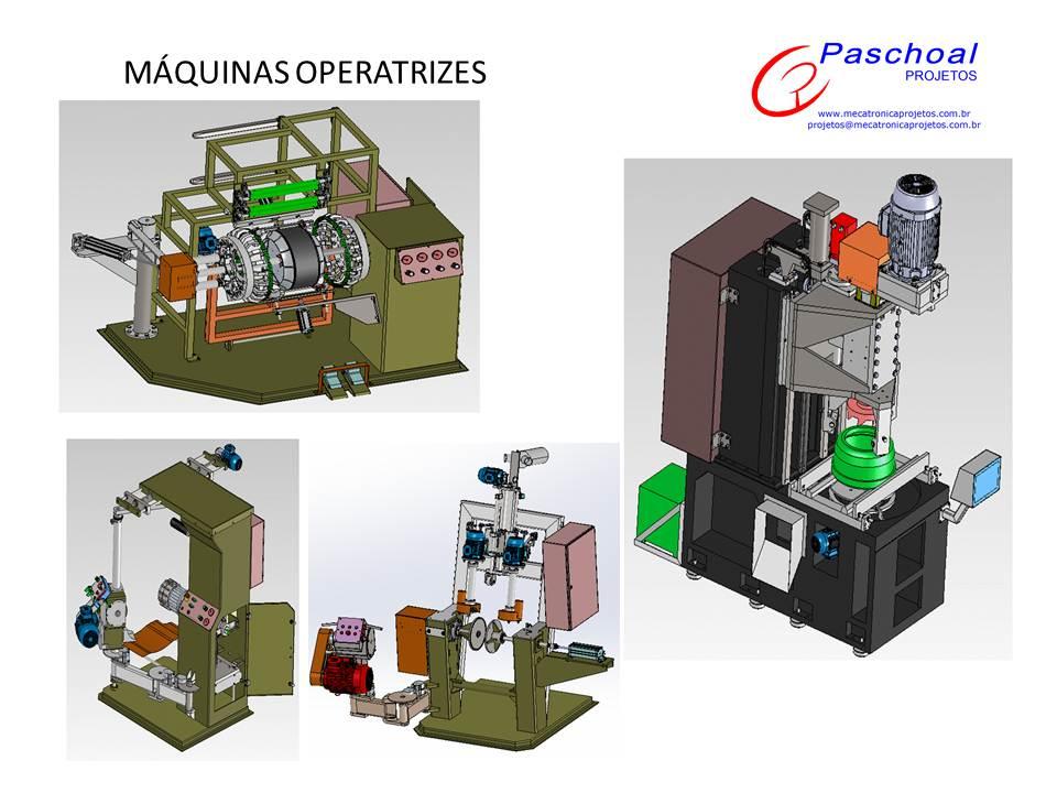 Projetos FP: Máquinas operatrizes especiais