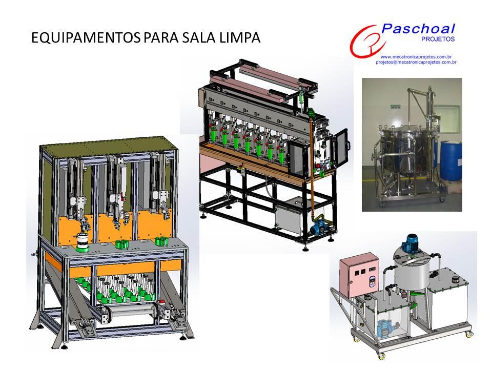 Projetos FP: Projeto equipamentos conceito sala limpa