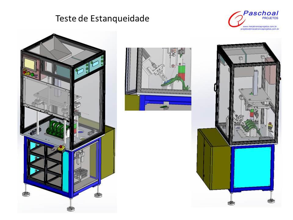 Projetos FP: Equipamentos de teste de estanqueidade