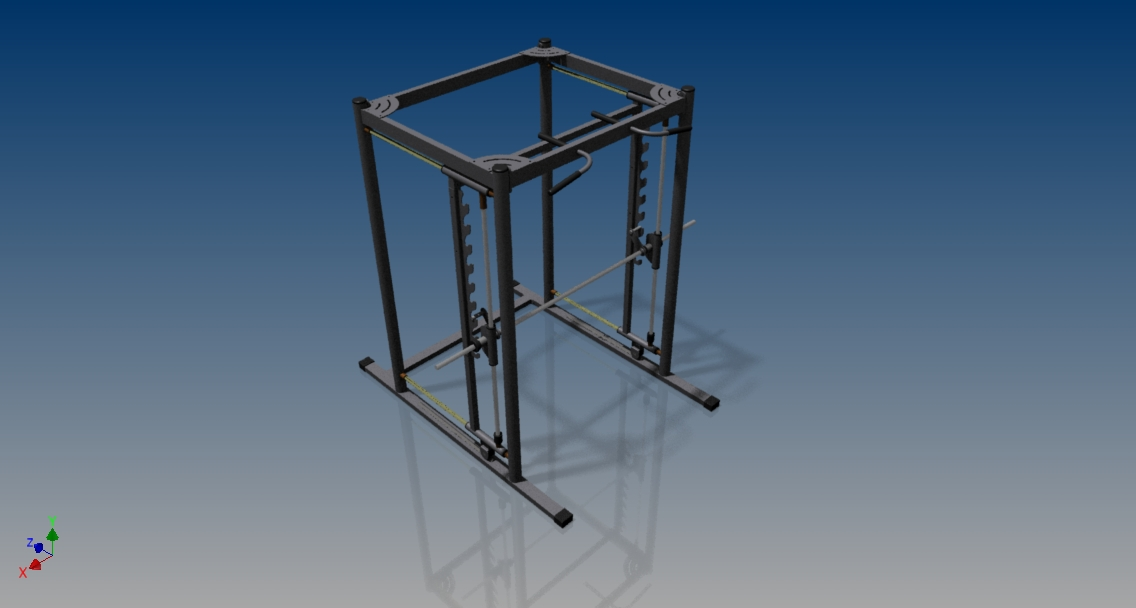 Projetos FP: Projeto de Barra Guiada 3D