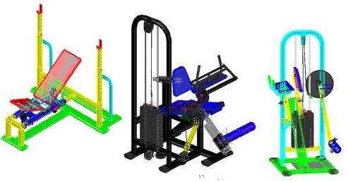 Projetos FP: Projetos de Equipamentos de Musculação
