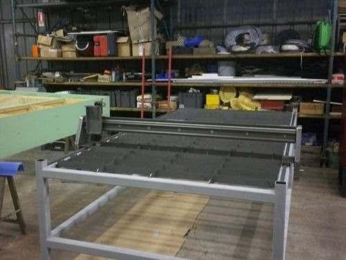 Projeto Solicitado [3 de abril de 2015] – Mesa corte plasma CNC