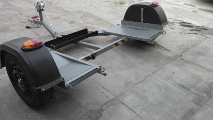 Projeto Solicitado [11 de junho de 2015] – Carretinha para transporte de Carros (Tipo Asa Delta)
