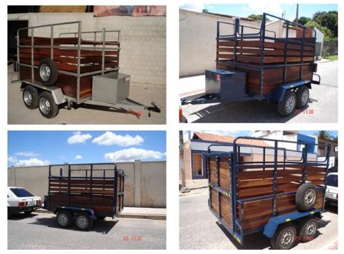 Projeto Solicitado [29 de julho de 2013] – Reboque para 2 cavalos