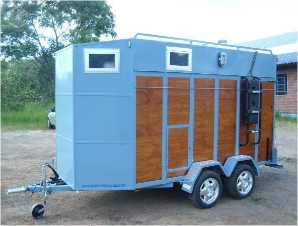 Projeto Solicitado [10 de setembro de 2013] – Reboque para 2 cavalos fechado de chapa