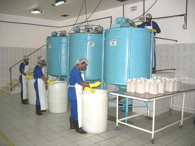 Projeto Solicitado [29 de maio de 2014] – Projeto Completo Indústria de Produtos de Limpeza