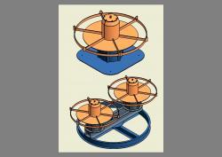 Projetos FP: Desbobinador de perfil de aço - (Simples e Duplo)