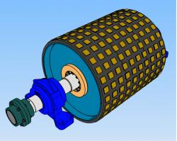 Projetos FP: Tambor Motriz Transportador de Correia - Ceramico