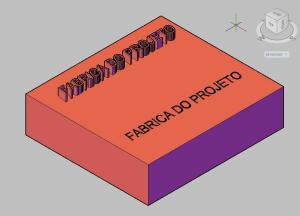 AutoCad: Textos em 3D