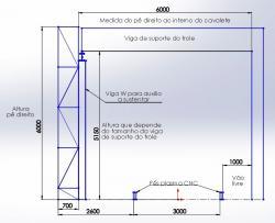 Projeto Solicitado [25 de agosto de 2014] - Projeto de um Semi-Portico