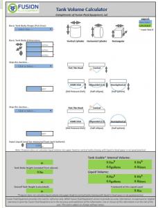 Cálculos Online: Tanques e Reservatórios - Volume e capacidade