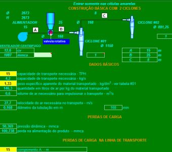 39. Cálculo transporte pneumático