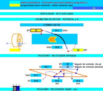 4. Cálculo Ventiladores Axiais