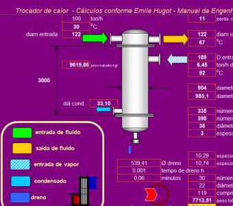 45. Cálculo projeto trocadores de calor II