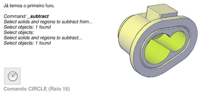 Tutorial Passo a Passo Componente 3D: AutoCad 2009