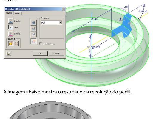Modelagem Engrenagem: Inventor 2010