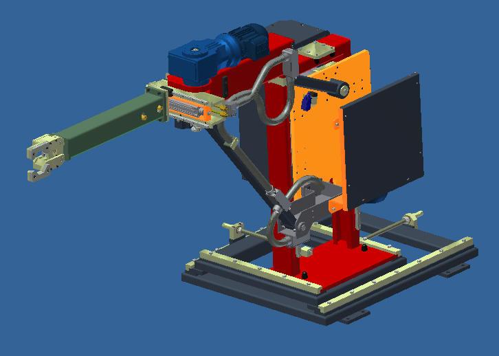 Projetos Mecânicos FP: Manipulador Automático Articulado MAE