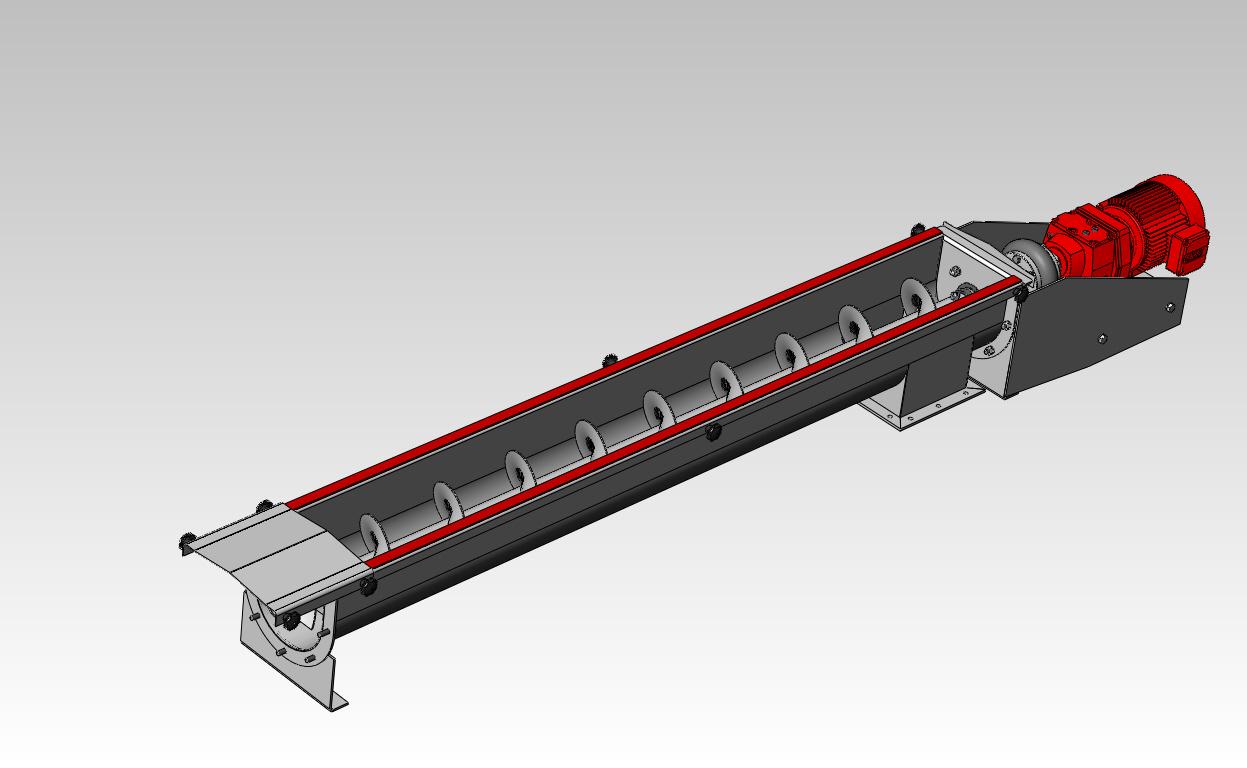 Projetos Mecânicos FP: Rosca Transportadora