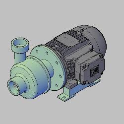 Blocos FP: BOMBA CENTRÍFUGA BL-30 2″x2″l – 2HP – 2P – BOMBINOX 3D