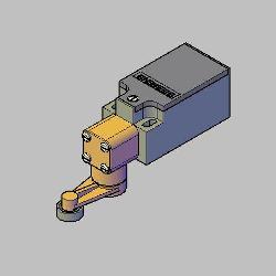 Blocos FP: CHAVE FIM DE CURSO 3SE3 200-1G – SIEMENS 3D