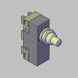 Blocos FP: MICRORRUPTOR LIMITADOR T2C-15A-250V 3D