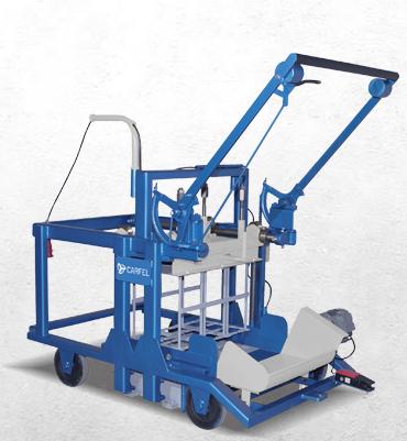 Projeto Solicitado – Projeto de máquina para fabricar blocos de concreto tipo poedeira  |Finaliza Dia 10/08/2020|