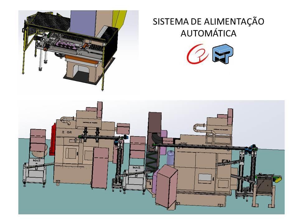 Projetos FP: Sistema de alimentação de peças automática