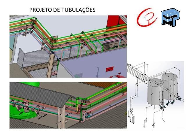 Projetos FP: Projeto de tubulações e utilidades