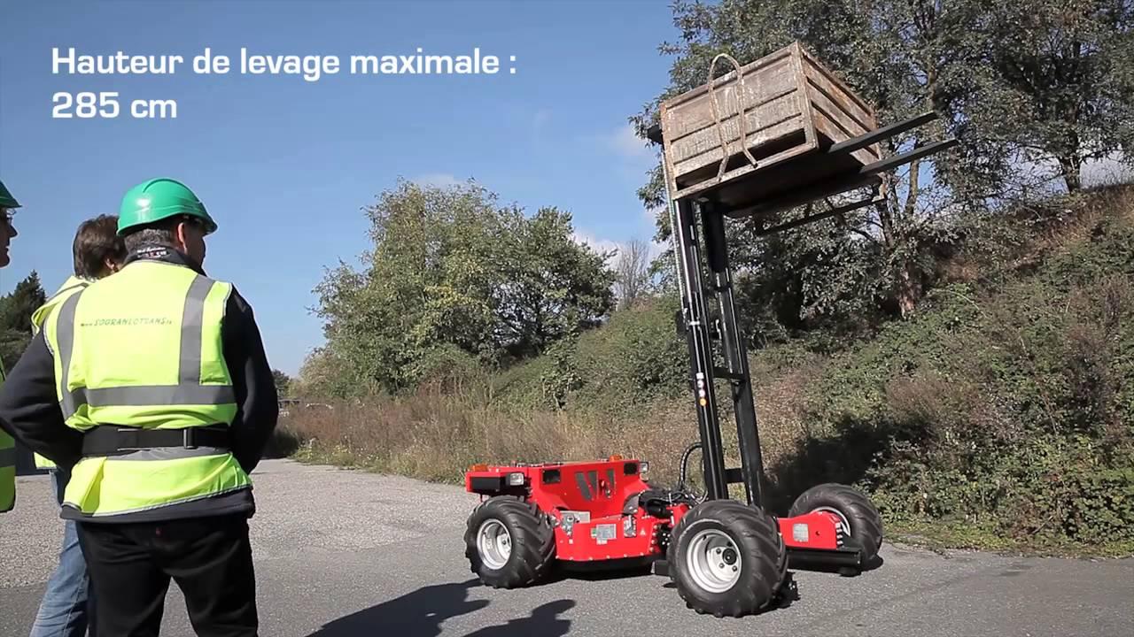 Grandes Ideias – Grandes Projetos: Empilhadeira Articulável para Carga e Descarga de Caminhões
