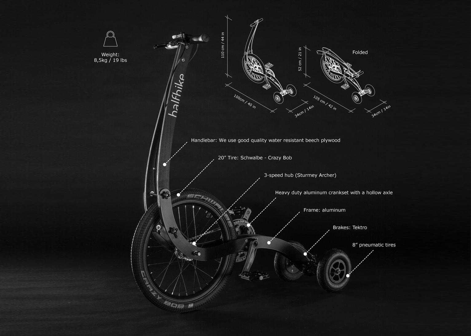 Grandes Ideias – Grandes Projetos: HalfBike – Combinando Corrida e Ciclismo