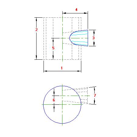 32 Planificacao Duto Cilindrico uniao com Tronco Cone Invertido traçado caldeiraria