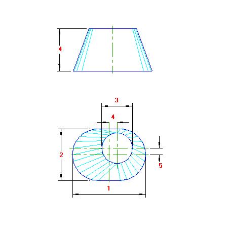 68 Planificacao Transição Redondo para Oval traçado caldeiraria